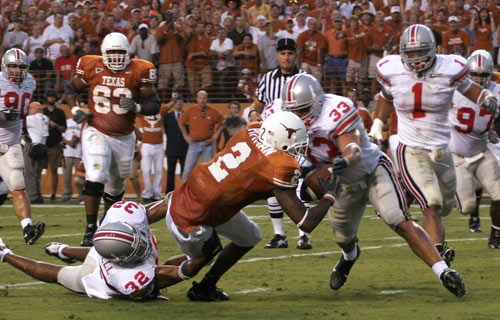 OSU vs. Texas, 2009 Fiesta Bowl is the rubber match with the series tied 1-1