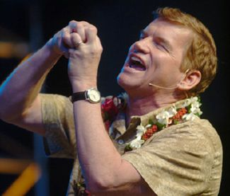 Numbnuts, Ted Haggard pleads with the non-existant almighty to cure himself of being gay. Good luck with that.