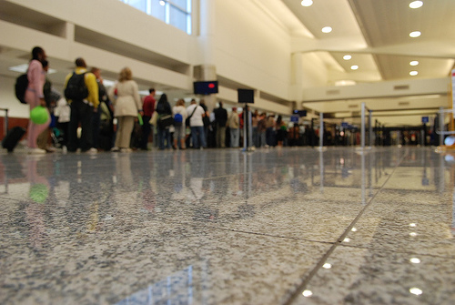 Long airport security lines post Clear