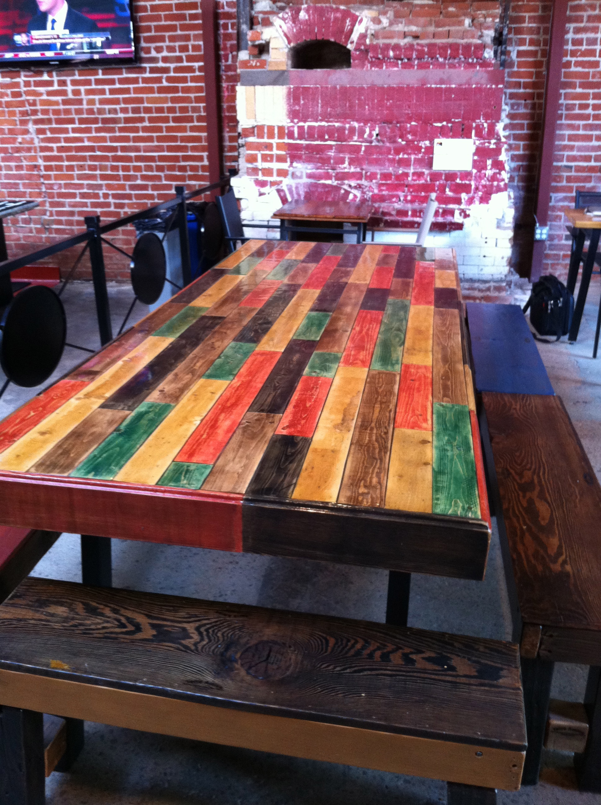 Terra Amico Table in San Pedro Square Market, San Jose