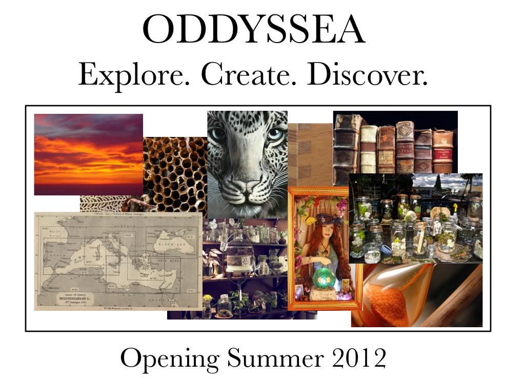 Oddyssea Teaser Sign