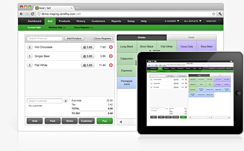 Vend POS is a great choice to run your retail store.