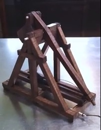 Desktop Trebuchet - one of the products carried at Oddyssea Half Moon Bay.