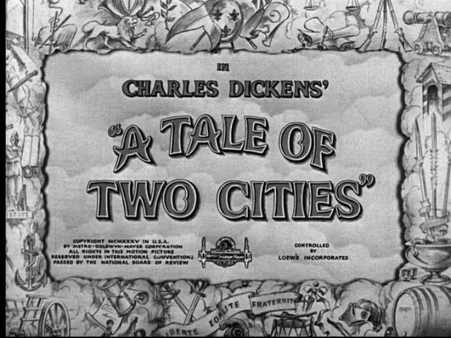 A Tale of Two Cities Title Image