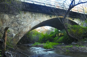 Main Street Bridge over Pilarcitos Creek, Half Moon Bay, California
