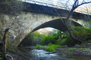 Main Street Bridge over Pilarcitos Creek, Half Moon Bay, California