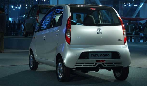 Tata Motor's Nano, soon to be available in micro-hybrid form