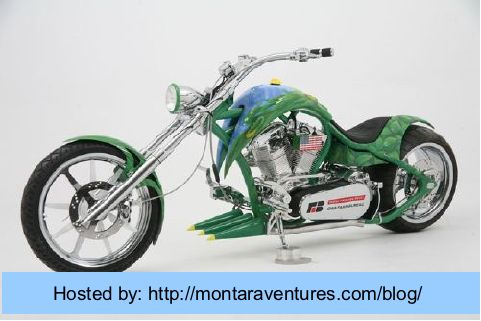E85 Custom Chopper built and raffled to build ethanol awareness by the Iowa Farm Bureau