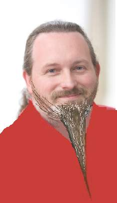 Mike Harding's potential look for next year's beard and moustache world championship.