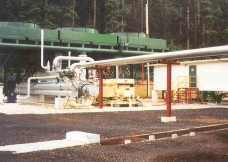 Los Azufres - binary geothermal plant.