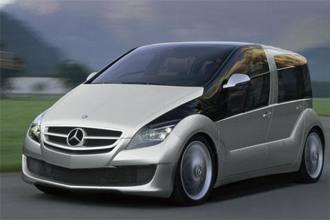 Mercedes Hydrogen Car Concept Vehicle