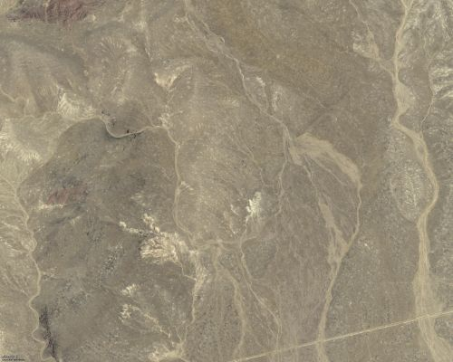 Sou Hills Prospect, Nevada, Aerial Imagery of Section 22 - high resolution image of same area available  with a click.