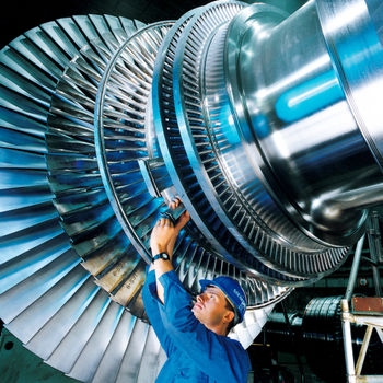 Steam turbine shaft/blade assembly