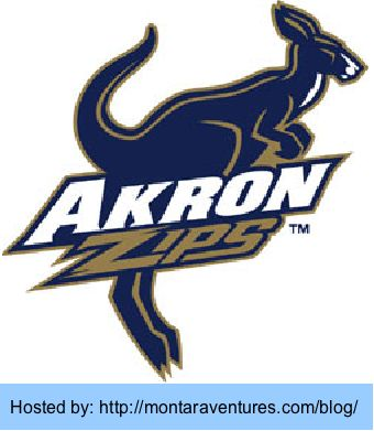 Logo for Akron Zips