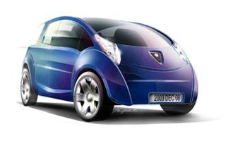 Zero Pollution Mileage compressed air car